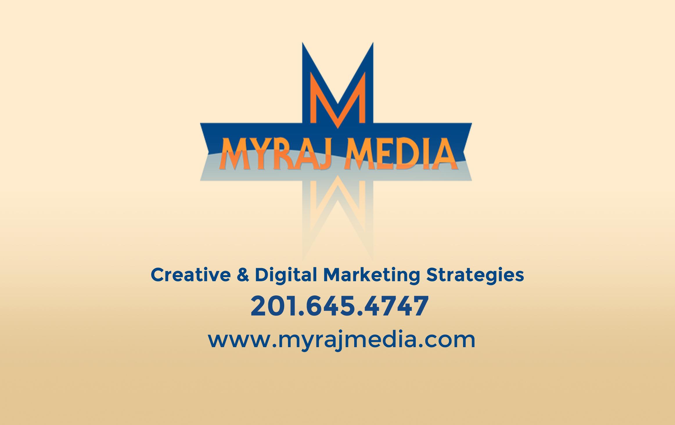 Myraj Media Business Cards