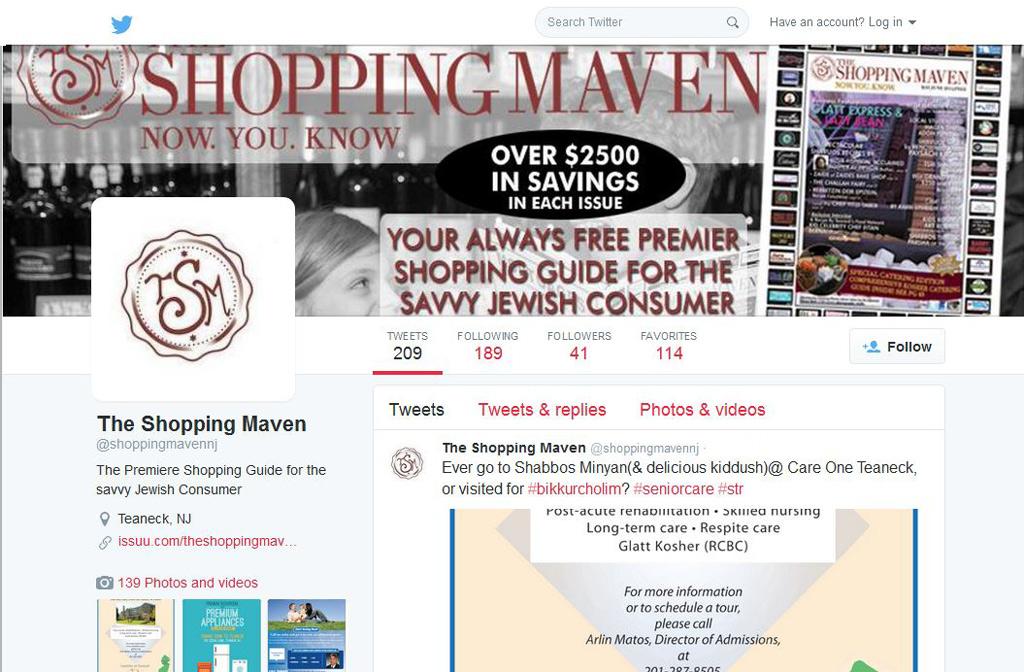 The Shopping Maven