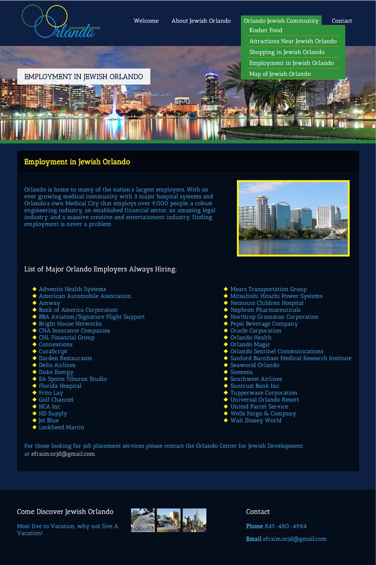 Discover Jewish Orlando