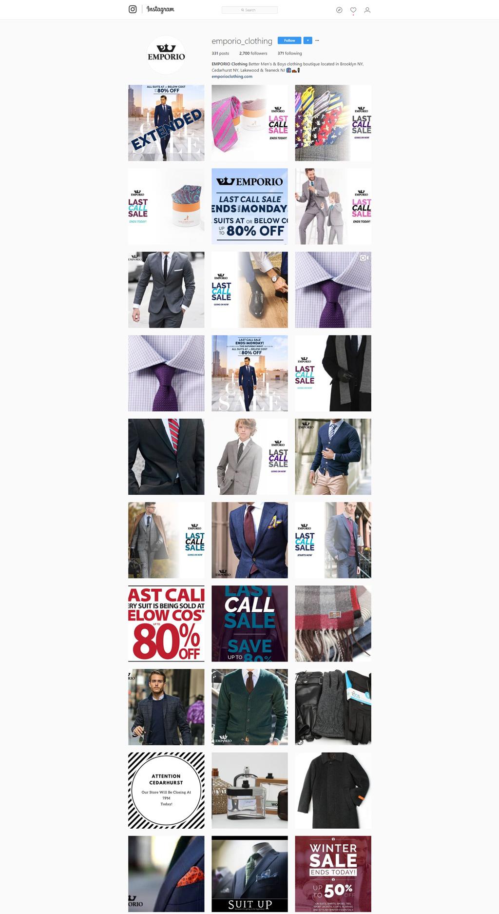 Emporio Clothing
