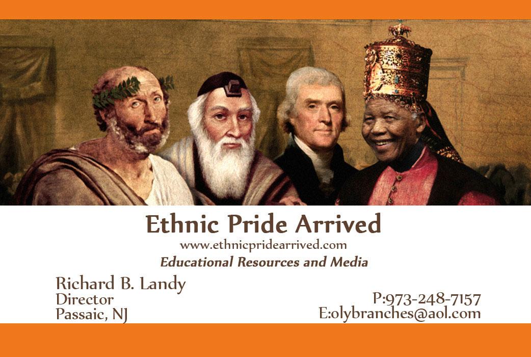 Ethnic Pride Schools Business Cards