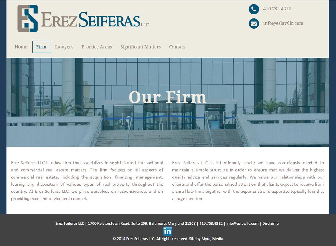 Erez Seiferas LLC