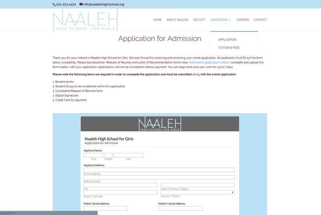 Naaleh High School for Girls