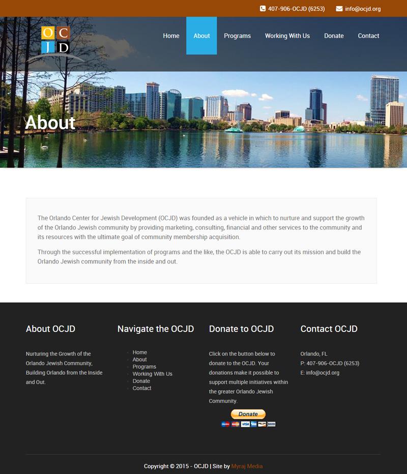 Orlando Center for Jewish Development