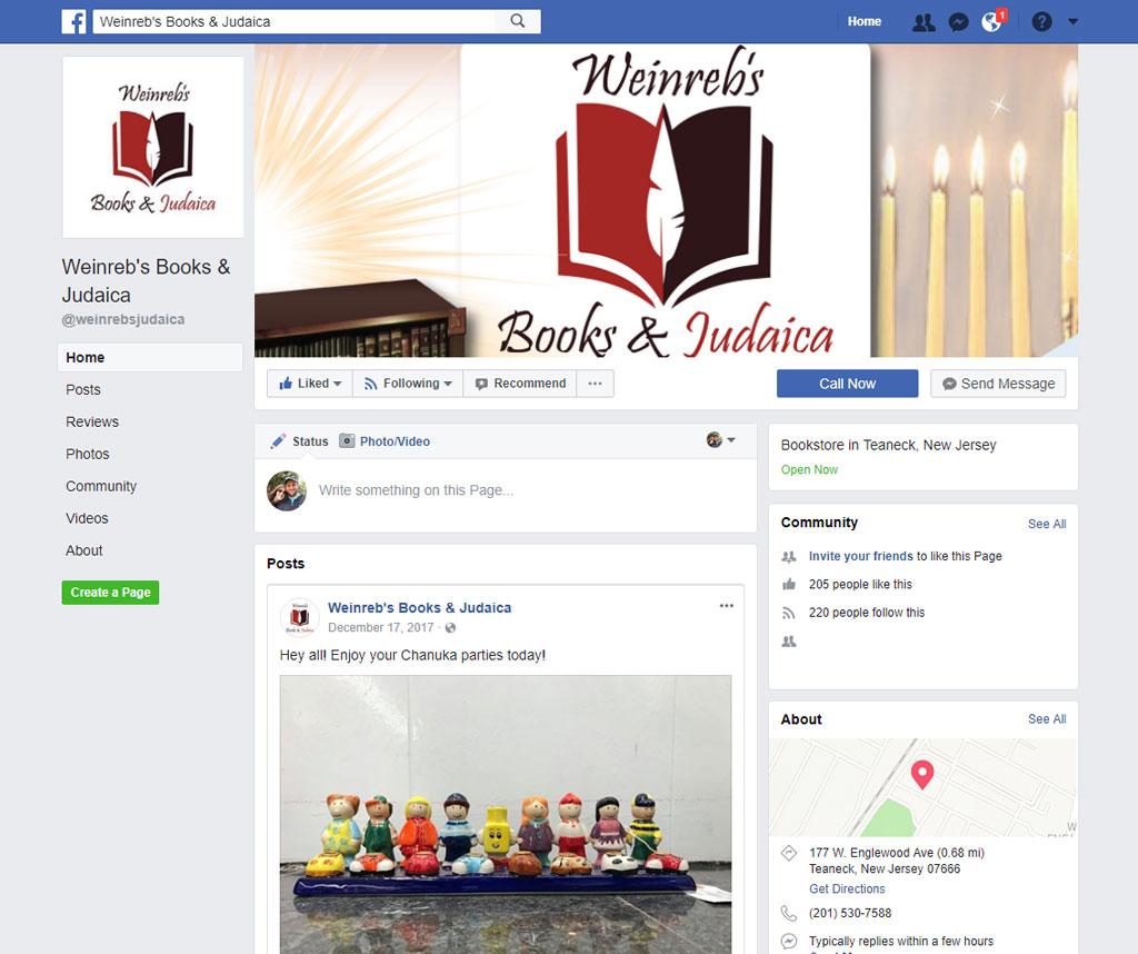 Weinreb's Books & Judaica