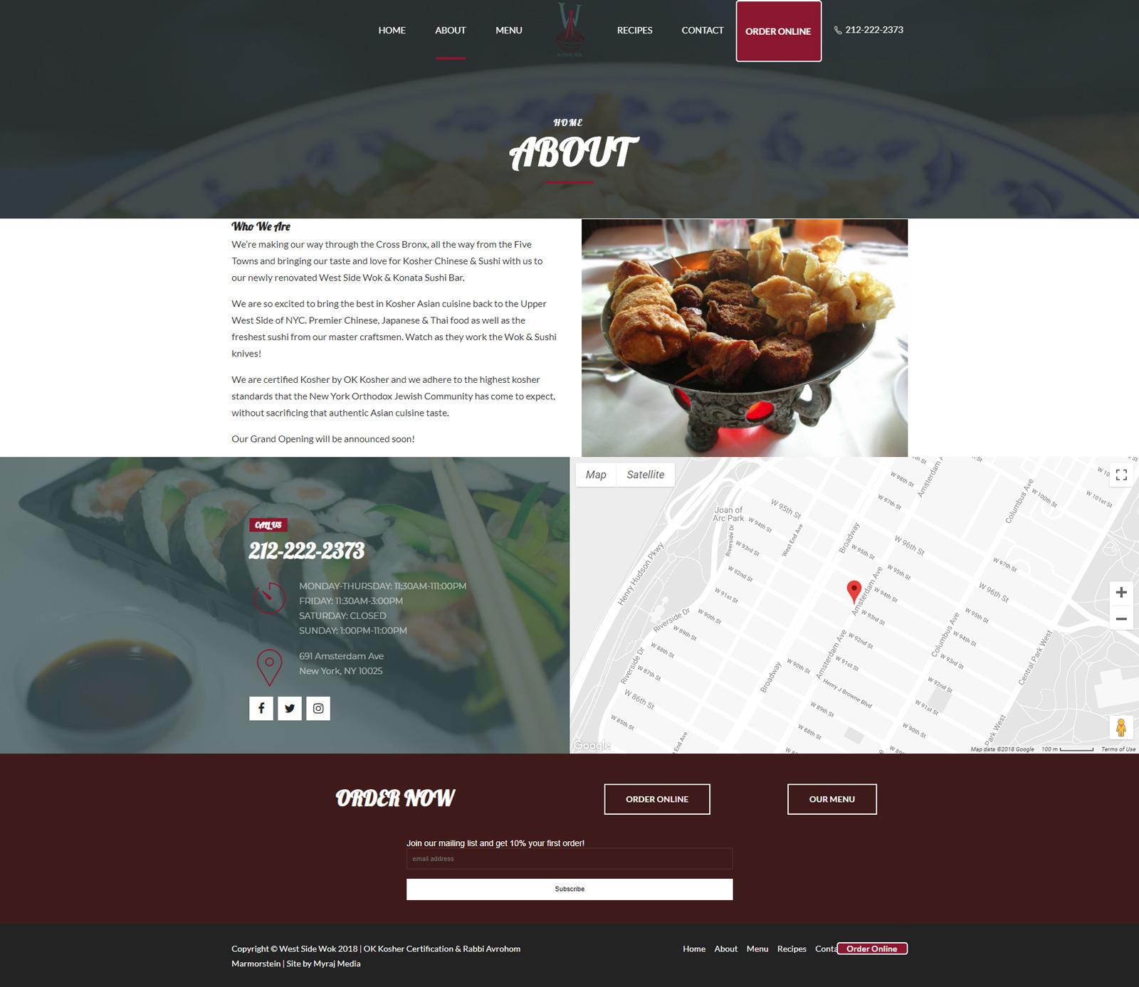 West Side Wok & Konata Sushi Bar